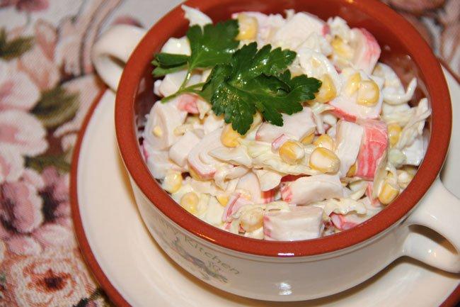 технология приготовления салат из маркови