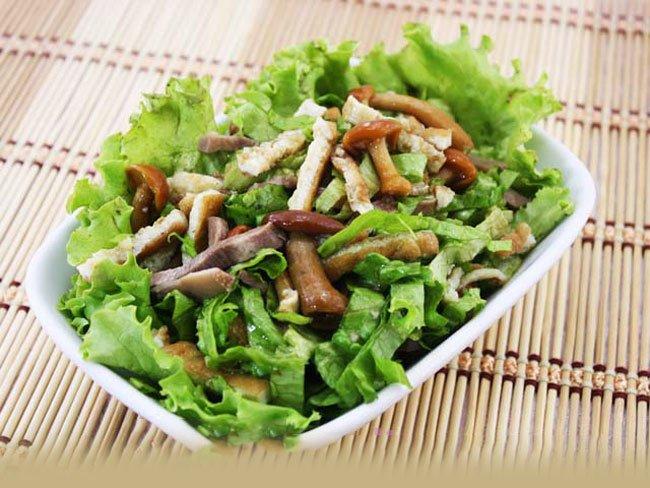 как приготовить салат из омлета