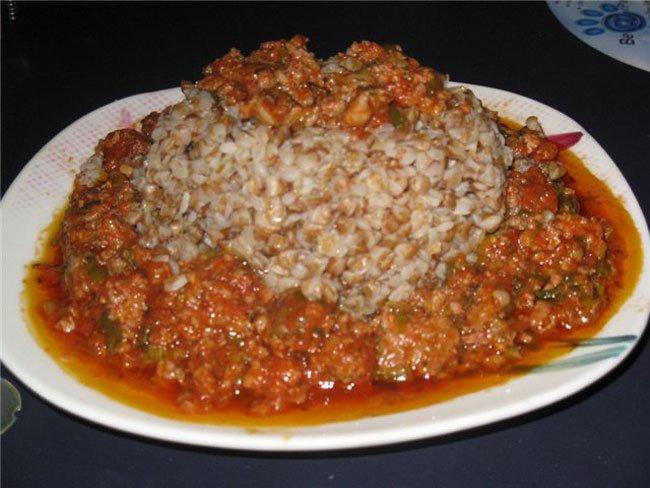 как сделать подливку к гречке с мясом