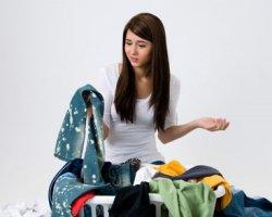 Как удалить старое жирное пятно с одежды