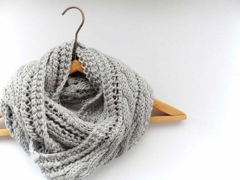 Как можно связать шарф своими руками