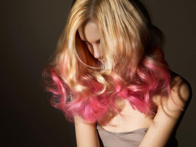 Как сделать омбре волос в домашних условиях блондинке