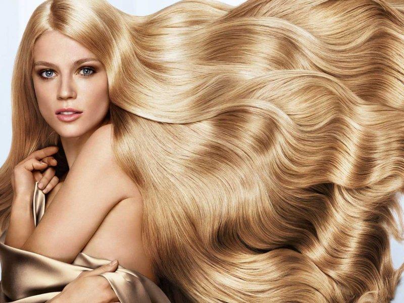 Цвет волос женщина лето