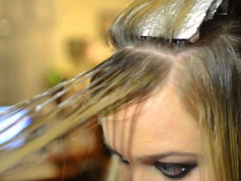 Видеоуроки мелирование на волос в домашних условиях