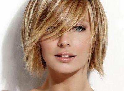 стрижка на тонкие прямые волосы