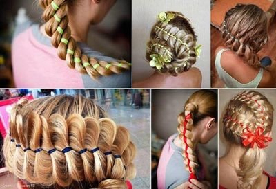 Детские прически на средние волосы косы