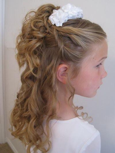 Прически на выпускной на длинные волосы для девочек