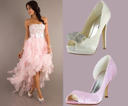 Фото выпускной туфли платья