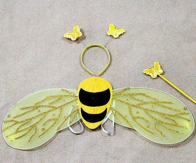 Костюм пчелы своими руками, для девочки, для мальчика