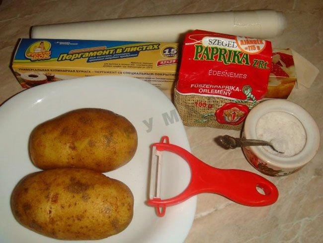 Чипсы в домашних условия рецепт с фото