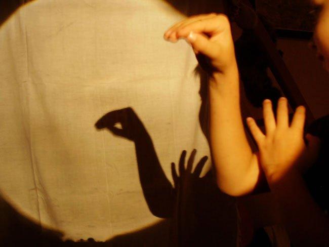 Как сделать свою тень на фото