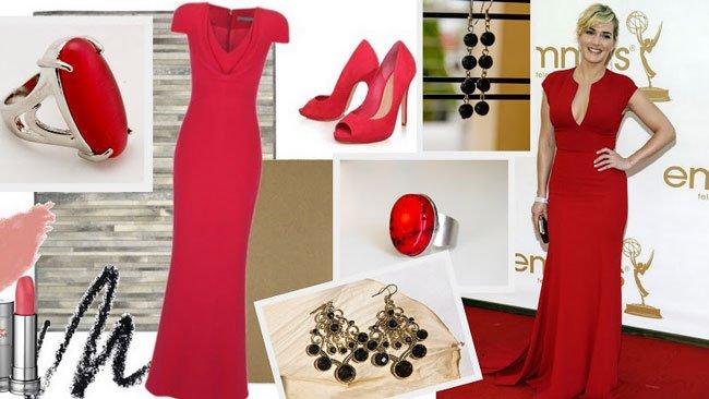 Подбор туфель к красному платью