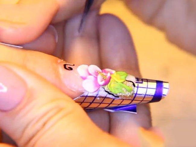 Аквариумные ногти как сделать 245