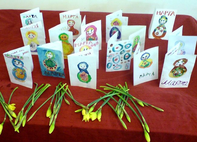 Праздник 8 марта для девочек в школе картинки