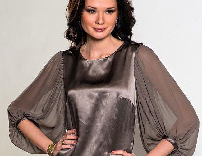 Фото фасонов рукавов на платьях