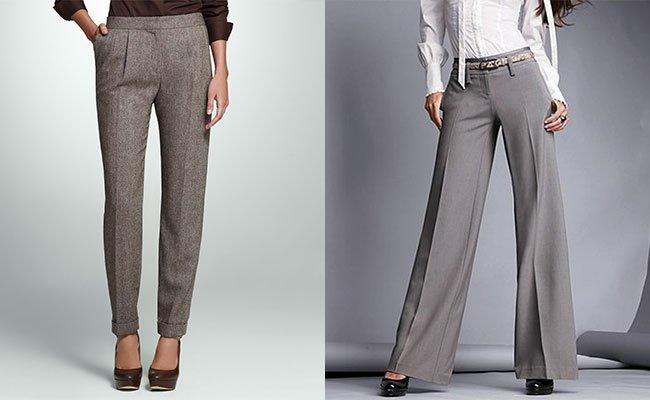 Модели брюк женских
