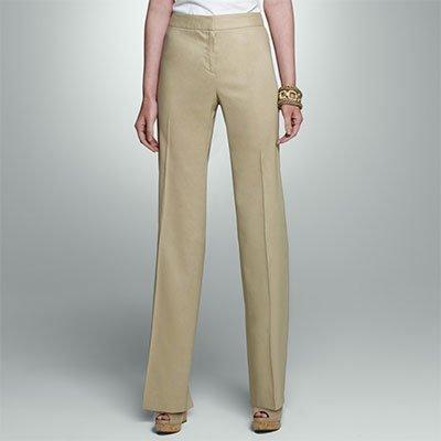 фасоны женских брюк из крепа, шелка