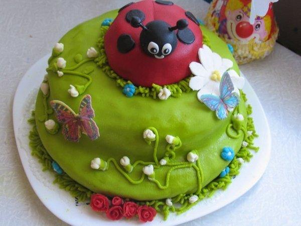 Как сделать кружева для торта своими 94