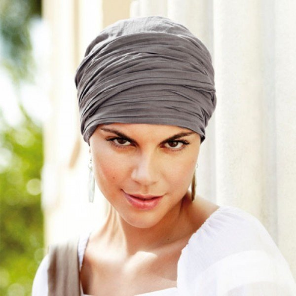 How to wear a headscarf after chemo