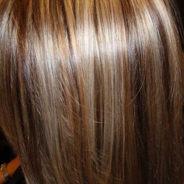 Окраска мелирование волос