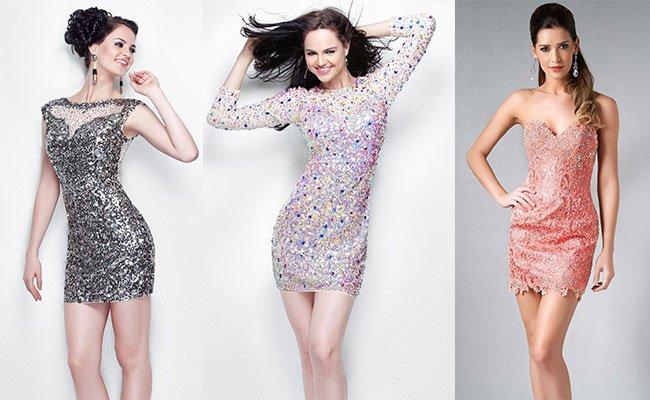 Коктейльное платья модели
