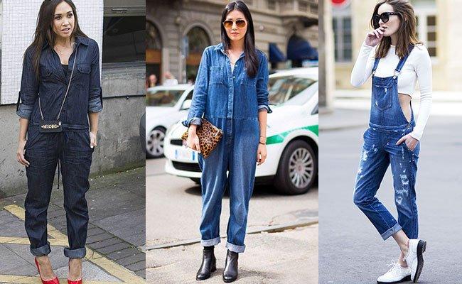Модные джинсовые  лето 2016
