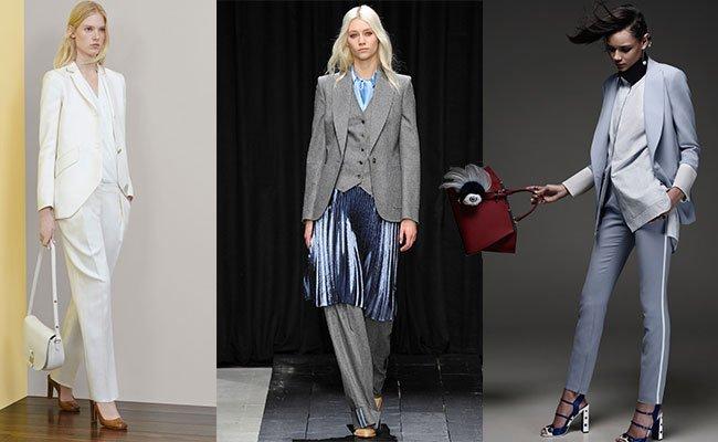 Классические костюмы женские 2015