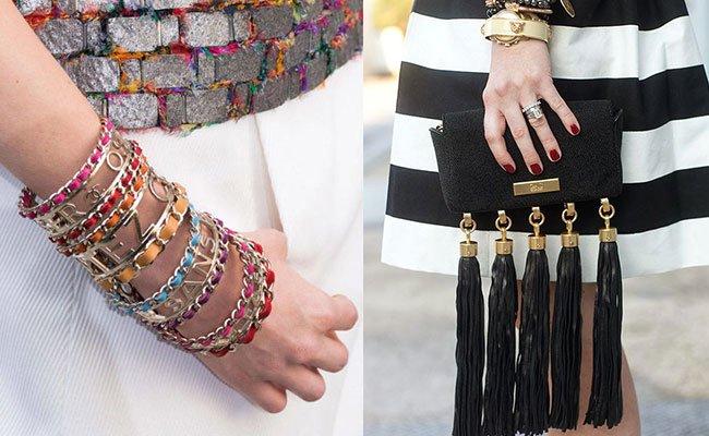 Летние женские браслеты