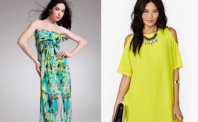 Платье с цельнокроеными рукавами Пошив модной