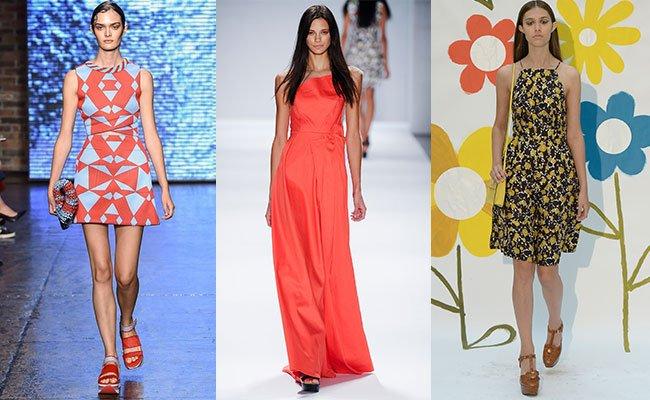 Но главным хитом 2015 года по-прежнему останутся яркие летние сарафаны с цветочными мотивами