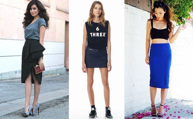 Модные женские юбки 2015. Актуальные фасоны и расцветки женских