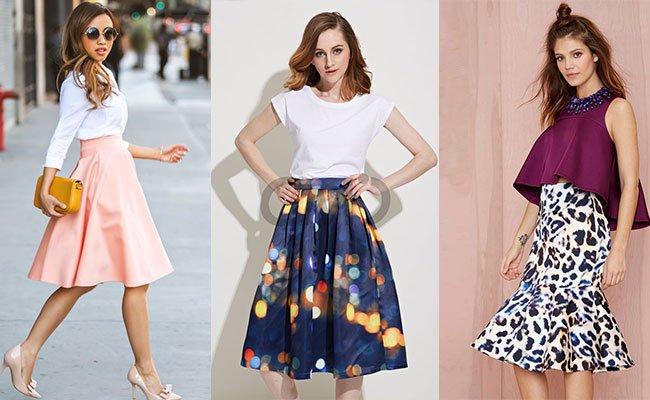 Женские юбки 2015