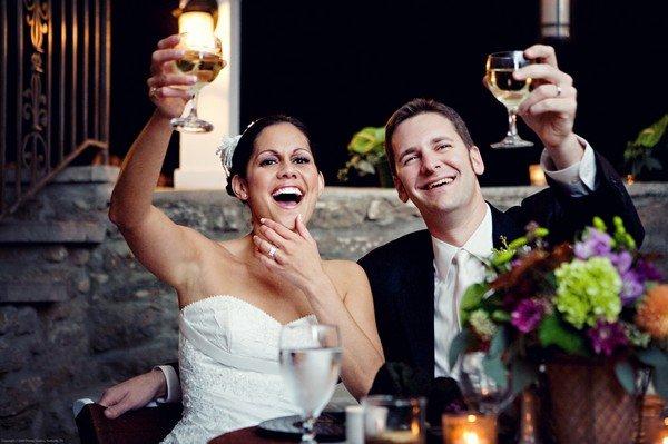 Короткое свадебное поздравление молодоженам 3