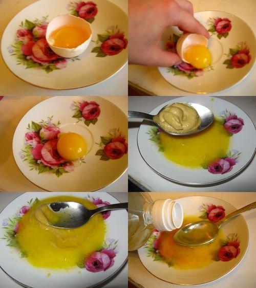Маска для волос репейное кокосовое льняное масло