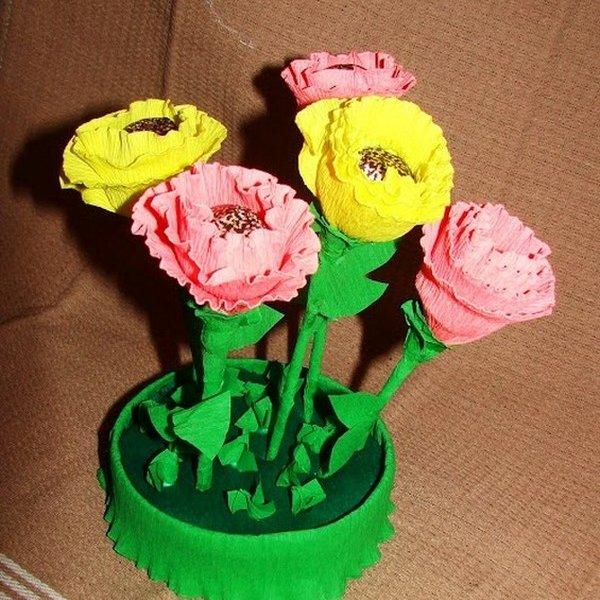 Сделать цветок из конфет своими руками