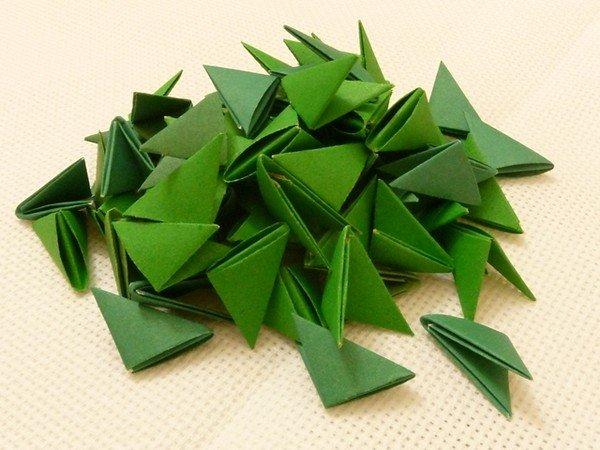 знакомство с модульным оригами