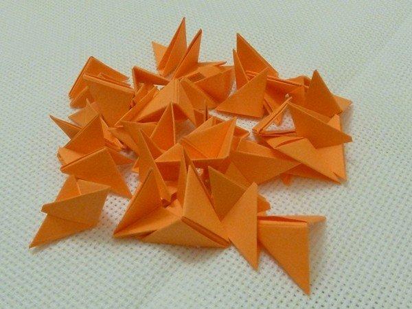 Инструкция по модульным оригами лебедь