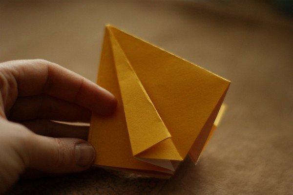 Развороты фигур из бумаги