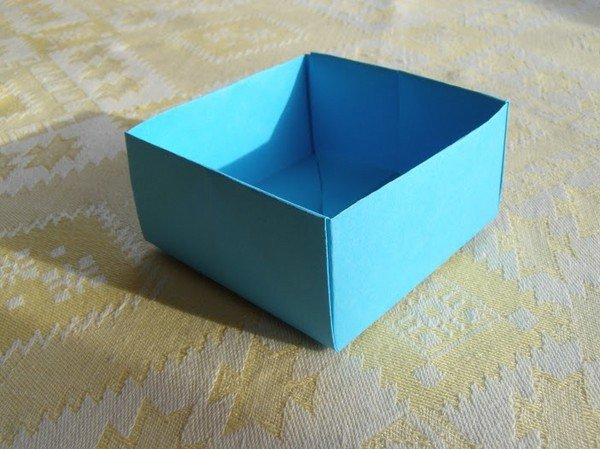 Поделка из бумаги на коробку 217