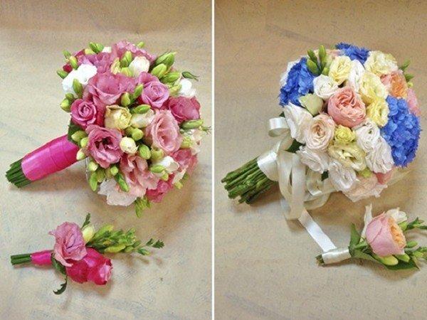 Цветы на свадьбу для гостей своими руками 55