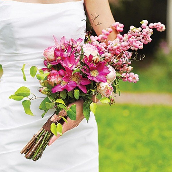 Свадебные корзинка