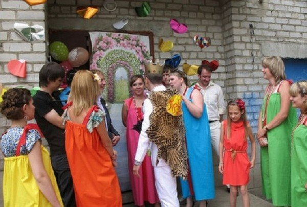 Сценарий выкупа невесты со стороны невесты