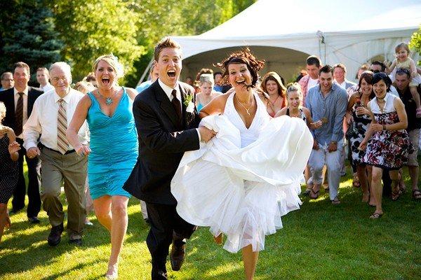 Конкурсы на свадьбу и развлечения