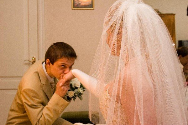 Свадьба без выкупа: сценарий