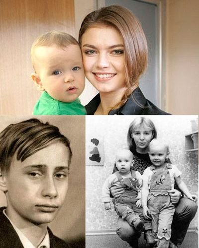 Фото детей президента в.в. путина