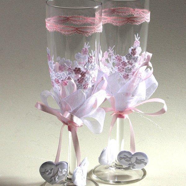 Идеи для свадьбы своими руками бокалы