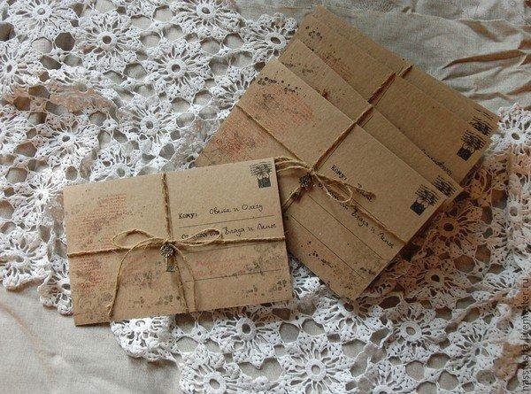 Конверты почтовые своими руками фото