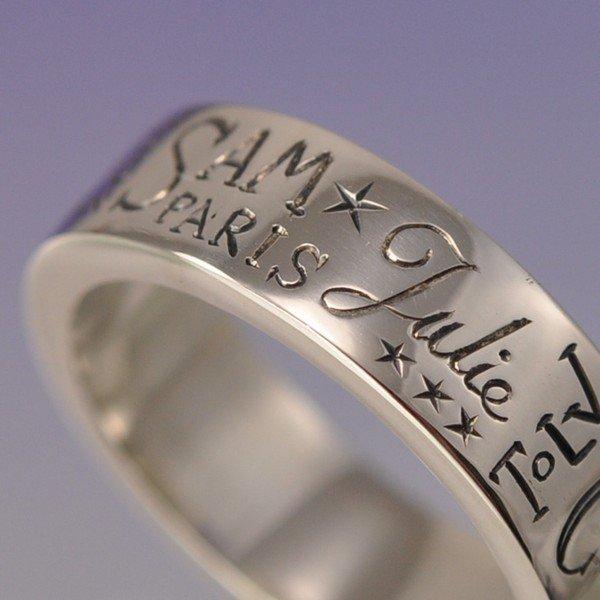 гравировка на обручальных кольцах примеры надписей