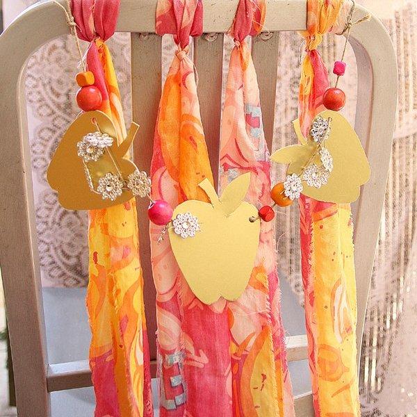Своими руками украсить свадебного стола