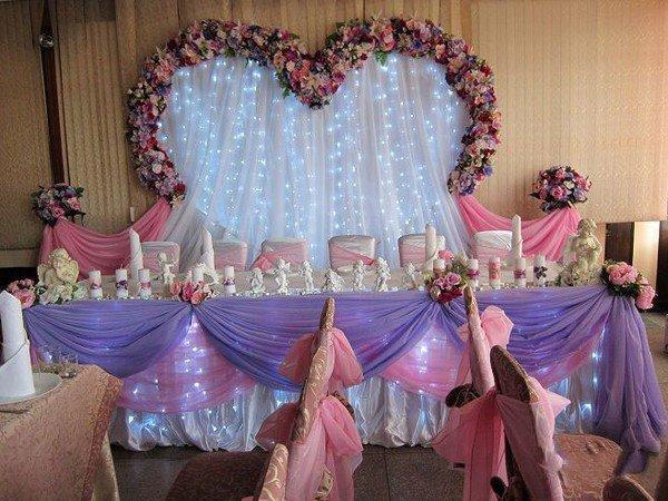 Оформление арки свадебной своими руками